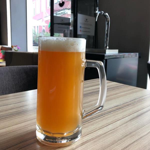 Donauwörther Brauhaus - Landbier frisch gezapft