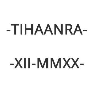 Sponsor TIHAANRA